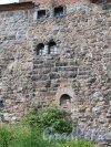 г. Выборг, Замковый остров. Выборгский замок. Фрагмент Крепостной стены. Фото июнь 2013 г