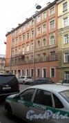 5-я Красноармейская улица, дом 9 / улица Егорова, дом 16. Угол 5-й Красноармейской улицы и улицы Егорова. Фото 9 апреля 2015 года.