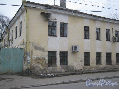 г. Павловск, Госпитальная ул., дом 12. Фрагмент здания. Фото 5 марта 2014 г.