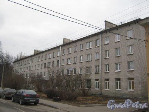 г. Павловск, ул. 1-го Мая, дом 6. Общий вид со стороны фасада. Фото 5 марта 2014 г.