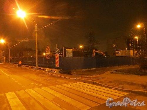 Стрельбищенская улица, дом 13. Участок после сноса здания. Фото 4 ноября 2014 года.