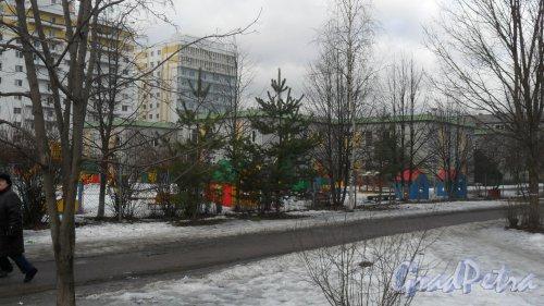 г. Всеволожск, микрорайон Южный, улица Невская, дом 16. Фото 4 марта 2015 года.