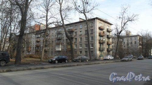 Новороссийская улица, дом 10. Фото 6 марта 2015 года.