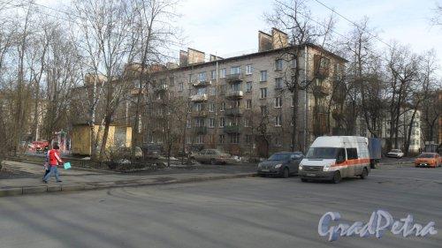 Новороссийская улица, дом 14. Фото 6 марта 2015 года.