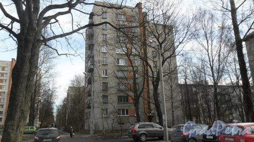 Улица Новороссийская,дом 6. Вид дома со двора. Фото 6 марта 2015 года.