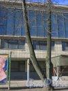 Улица Правды, дом 3, литера А. Фрагмент фасада здания. Фото 11 марта 2014 года.
