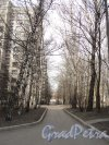 Участок улицы Громова от Гранитной улицы в сторону Рижской улицы. Фото 12 апреля 2011 года.