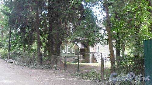 Лен. обл., Всеволожский р-н, г. Всеволожск. Баркановская улица, дом 80. Фото 27 августа 2015 года.