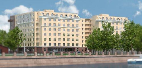 Улица Савушкина, дом 104. Проект жилого комплекса «Елагин-апарт».