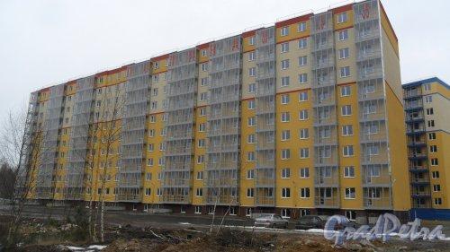 Всеволожск, улица Доктора Сотникова, дом 27. Дом 4 в ЖК