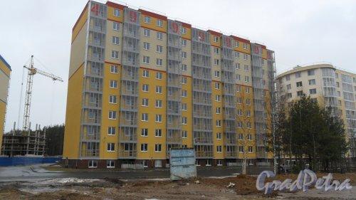 Всеволожск, улица Доктора Сотникова, дом 25. Дом 5 в ЖК