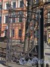 Кирочная ул., д. 8. Створка ворот решетки по Кирочной улице. Фото март 2015 г.