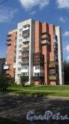 Всеволожск, Ленинградская улица, дом 26, лит. А. 9-этажный жилой дом 1997 (2000 ?) года постройки. 1 парадная, 33 квартиры. Фото 23 августа 2016 года.