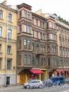 улица Жуковского, дом 11. Общий вид фасада здания. Фото 21 октября 2016 года.