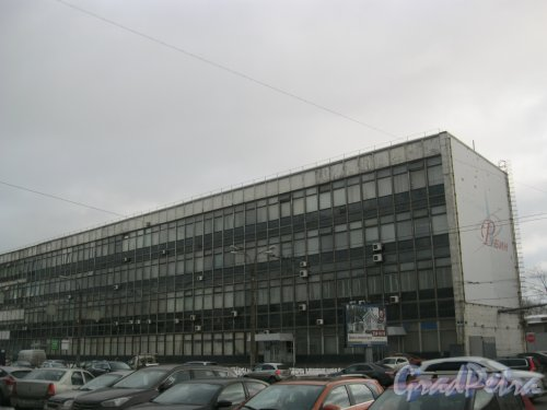 Кантемировская ул., дом 5. Фрагмент фасада. Фото 17 февраля 2016 г.