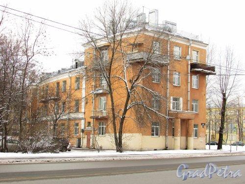 Улица Бабушкина, дом 23. Жилмассив для рабочих-текстильщиков. Фото 16 февраля 2016 года.