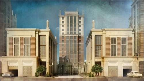 Улица Дыбенко, дом 8. Проект жилого комплекса «Ренессанс»