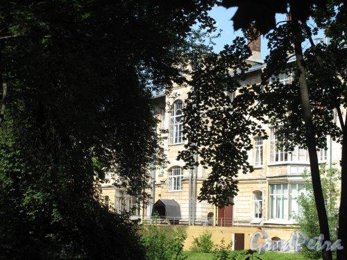 Политехническая ул.. 32, кор. Х. Общий вид здания. Фото июль 2014 г.