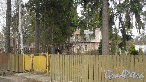 г. Всеволожск, улица Минюшинская, дом 19. Фото 12 апреля 2016 года.