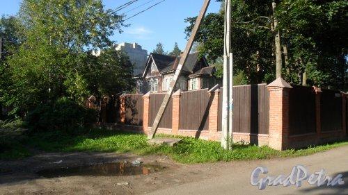 Всеволожск, улица Сергиевская, дом 103. Фото 17 августа 2016 года.