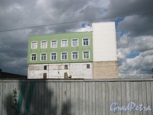 ул. Жукова, дом 9. Фрагмент здания. Вид с ул. Жукова. Фото 9 августа 2016 г.