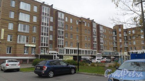Всеволожск, улица Межевая, дом 27. 1-я и 2-я парадные. Фото 11 рктября 2016 года.