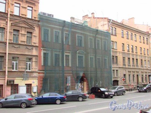 улица Жуковского, дом 19. Общий вид фасада особняка Э. Г. Юргенса. Фото 21 октября 2016 года.