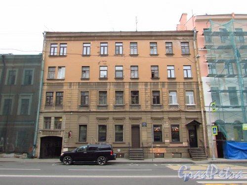 улица Жуковского, дом 17. Общий вид фасада особняка М. Ф. Безак. Фото 21 октября 2016 года.
