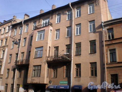 Дегтярная улица, дом 9. Левая часть здания. Фото 26 марта 2010 года.