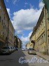 Крепостная ул. (Выборг). Перспектива улицы в районе дома 22. фото июнь 2015 г.