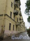 Красная ул. (Кронштадт), д. 8, кор. 1. Жилой дом. Дворовый фасад. фото июнь 2015 г.