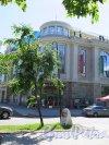 Александровский парк (улица), д. 4а, кор. 3а. Киноцентр «Великан Парк». Общий вид фасада. фото июль 2015 г.