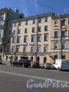 Кирочная ул., д. 36, левая часть. Доходный дом А. Ф. Жуковского. Общщий вид фасада. фото июль 2015 г.