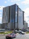 Софийская ул. (Купчино), дом 6, корпус 8, (строение 1). Бизнес-Центр. Общий  вид. Фото июль 2015 г.