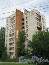 Будапештская ул., дом 24. Общий вид дома с Будапештской ул. Фото июль 2012 г.