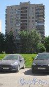Улица Малая Балканская, дом 4, корпус 1. 14-этажный жилой дом серии 1-528кп80 1975 года постройки. 1 парадная, 97 квартир. Фото 24 мая 2018 года.