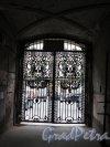 Ул. Чайковского, д. 79. Доходный дом Соболевых. Въездные ворота со стороны двора. Фото июнь 2016 г.