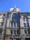 Большая Морская ул., д. 22. Здание Центральной телефонной станции. Левая часть фасада. Фото июль 2016 г