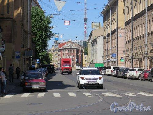 ул. Чапаева. Вид улицы от дома 2. Фото Июль 2015 г.