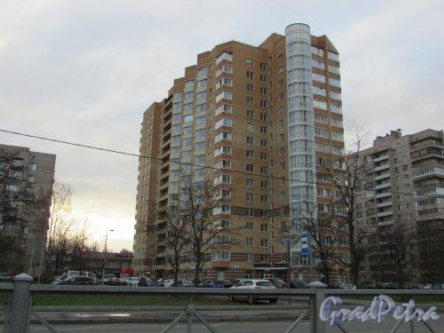улица Орджоникидзе, дом 59, корпус 2, литера А. Фасад со стороны улицы Орджоникидзе. Фото 9 ноября 2017 года.