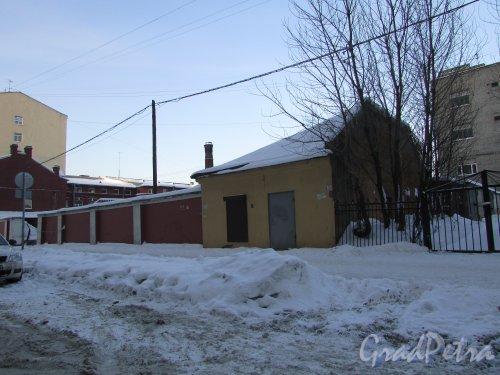 Заозерная улица, дом 10, литера Е. Общий вид участка. Фото 8 февраля 2018 года.