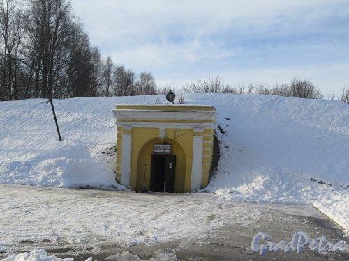Островная ул. (Выборг), д. 6а. Абосские ворота, 18 в. фото февоаль 2016 г.