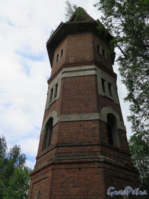 Водонапорная башня усадьбы Е.И.Лопухиной. Фасад башни