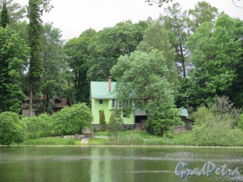 Парк Осиновая роща, Коттедж на берегу озера. фото июнь 2016 г.