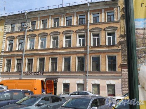 Стремянная ул., д. 22, к. 2 (Правая часть). Доходный дом. Общий вид фасада. фото 2016 г.